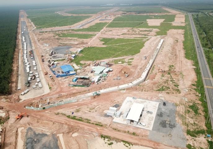 bất động sản thị xã Phú Mỹ hưởng lợi từ dự án sân bay Long Thành